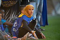 15th March 2020, Wellington, New Zealand; A Moments silence from kids during the A-League - Wellington Phoenix versus Melbourne Victory football match at Sky Stadium in Wellington on Sunday the 15th March 2020.