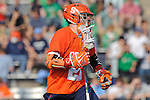 Baltimore, MD - March 17: Attackmen Tim Desko #21 of the Syracuse Orangemen during the Syracuse v Johns Hopkins mens lacrosse game at  Homewood Field on March 17, 2012 in Baltimore, MD.(Ryan Lasek/Eclipse Sportswire)
