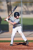 Blake Borck (47), from Hudson, Michigan, while playing for the Tigers during the Under Armour Baseball Factory Recruiting Classic at Red Mountain Baseball Complex on December 29, 2017 in Mesa, Arizona. (Zachary Lucy/Four Seam Images)