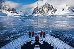 Arriving at the Antarctic Peninsula, Antarctica