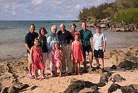 Geoff Rohrer family at Black Bay
