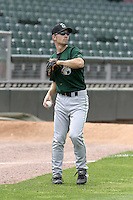 Clinton Lumberkings Joey McLaughlin during practice before a Midwest League game at Fifth Third Field on July 18, 2006 in Dayton, Ohio.  (Mike Janes/Four Seam Images)