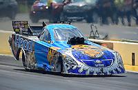 May 6, 2012; Commerce, GA, USA: NHRA funny car driver Jim Head during the Southern Nationals at Atlanta Dragway. Mandatory Credit: Mark J. Rebilas-