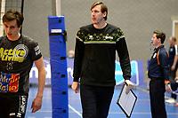 06-03-2021: Volleybal: Amysoft Lycurgus v Active Living Orion: Groningen Orion coach Joris Marcelis