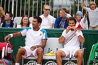 01-06-13, Tennis, France, Paris, Roland Garros, Jean-Julien Rojer(R) and his dubbles partner Aisam-ul-haq Qureshi