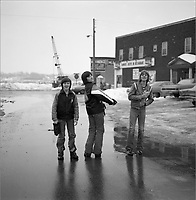 Street photography<br /> in Hull or Ottawa  , circa 1975