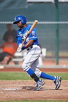 Kansas City Royals minor league outfielder Marsalis Holloway #80 during an instructional league game against the San Francisco Giants at the Giants Baseball Complex on October 18, 2012 in Scottsdale, Arizona. (Mike Janes/Four Seam Images)