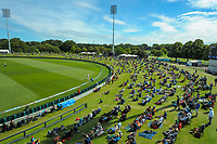 A general view during day four of the second International Test Cricket match between the New Zealand Black Caps and Pakistan at Hagley Oval in Christchurch, New Zealand on Wednesday, 6 January 2021. Photo: Dave Lintott / lintottphoto.co.nz