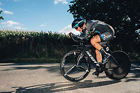 6th October 2021 Womens Cycling Tour, Stage 3. Individual Time Trial; Atherstone to Atherstone. Georgi Pfeiffer.