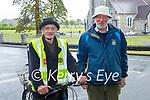 Enjoying a stroll in the Killarney National park on Sunday, l to r: Freddie Cronin and David Herlihy.