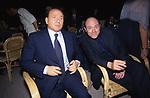 SILVIO BERLUSCONI CON CARLO VERDONE<br /> GLI 80 ANNI DI ALBERTO SORDI <br /> NOMINATO PER L'OCCASIONE SINDACO DI ROMA PER UN GIORNO - 15 GIUGNO 2000