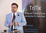 Kyle Wright (Shubert Ticketing) during the 2019 TRITIX Forum at Arts West Building on September 19, 2019 in New York City.
