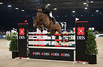 Gerco Schroder of The Netherlands riding Glock's Lausejunge the Longines Speed Challenge during the Longines Masters of Hong Kong at AsiaWorld-Expo on 10 February 2018, in Hong Kong, Hong Kong. Photo by Ian Walton / Power Sport Images