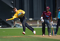 Michael Bracewell fields off his bowling during the Ford Trophy men's cricket match between Wellington Firebirds and Northern Districts at the Basin Reserve in Wellington, New Zealand on Sunday, 21 February 2021. Photo: Dave Lintott / lintottphoto.co.nz