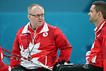 Pyeongchang, Korea, 15/3/2018-Mark Ideson and Dennis Thiessen compete in the  wheelchair curling during the 2018 Paralympic Games in PyeongChang.  Photo Scott Grant/Canadian Paralympic Committee.