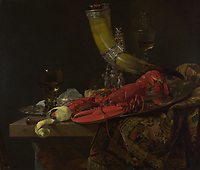 Full title: Still Life with Drinking-Horn<br /> Artist: Willem Kalf<br /> Date made: about 1653<br /> Source: http://www.nationalgalleryimages.co.uk/<br /> Contact: picture.library@nationalgallery.co.uk<br /> <br /> Copyright © The National Gallery, London