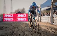 Dieter Vanthourenhout (BEL/Marlux-NapoleonGames)<br /> <br /> Elite Men's Race<br /> Soudal Jaarmarktcross Niel 2016