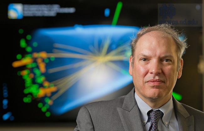 May 7, 2013; Colin Jessop, Professor of Physics ..Photo by Matt Cashore/University of Notre Dame