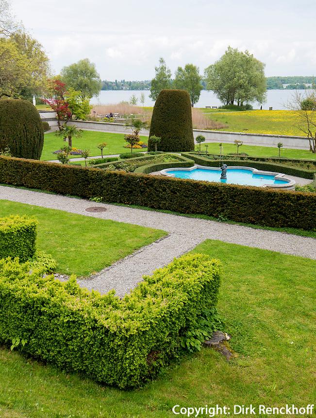 Schlossgarten im Seeburgpark Kreuzlingen, Kanton Thurgau , Schweiz<br /> castle garden, Seeburgpark Kreuzlingen, Canton Thurgau, Switzerland