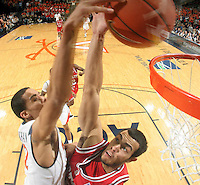 Virginia's Mustapha Farrakhan_Virginia held North Carolina State scoreless for more than 7 minutes on the way to a 59-47 victory Wednesday night at the John Paul Jones Arena in Charlottesville, VA. Virginia (14-6, 5-2 Atlantic Coast Conference) regained a share of first place in the conference. (Photo/Andrew Shurtleff)....