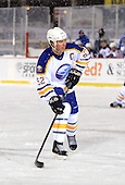 Craig Rivet (52) during The Frozen Frontier Buffalo Sabres vs. Rochester Amerks Alumni Game at Frontier Field on December 15, 2013 in Rochester, New York.  (Copyright Mike Janes Photography)
