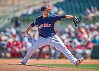 15 March 2016: Houston Astros pitcher Collin McHugh on the mound during a Spring Training pre-season game against the Washington Nationals at Osceola County Stadium in Kissimmee, Florida. The Astros fell to the Nationals 6-4 in Grapefruit League play. Mandatory Credit: Ed Wolfstein Photo *** RAW (NEF) Image File Available ***