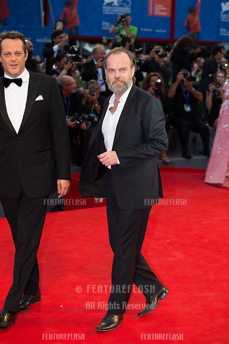 Hugo Weaving & Vince Vaughn at the premiere of Hacksaw Ridge at the 2016 Venice Film Festival.<br /> September 4, 2016  Venice, Italy<br /> Picture: Kristina Afanasyeva / Featureflash