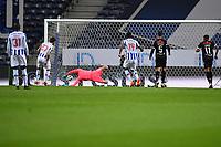 20th December 2020; Dragao Stadium, Porto, Portugal; Portuguese Championship 2020/2021, FC Porto versus Nacional; Sérgio Oliveira of FC Porto scores his penalty kick goal in the 21th minute 1-0