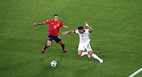 3rd September 2020; Stuttgart, Germany; UEFA Nations League football, Germany versus Spain;   Thiago Alcantara Spain, Thilo Kehrer  Germany