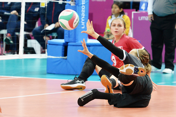 Jolan Wong, Lima 2019 - Sitting Volleyball // Volleyball assis.<br />