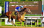August 21, 2021: Malathaat #6, ridden by jockey John Velazquez win the Grade 1 Alabama Stakes at Saratoga Race Course in Saratoga Springs, N.Y. on August 21st, 2021. Dan Heary/Eclipse Sportswire/CSM