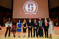 2018 Hall of Fame Induction Ceremony, September 7, 2018