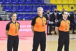 Turkish Airlines Euroleague 2020/2021. <br /> Regular Season-Round 10.<br /> FC Barcelona vs Crvena Zvezda MTS Belgrade: 76-65.<br /> Anne Panther, Luigi Lamonica & Gytis Vilius.