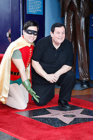 LOS ANGELES - JAN 9:  Robin, Burt Ward at the Burt Ward Star Ceremony on the Hollywood Walk of Fame on JANUARY 9, 2020 in Los Angeles, CA
