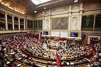 A view of the National Assembly in Paris, France, December 13, 2016. # BERNARD CAZENEUVE PRONONCE SON DISCOURS DE POLITIQUE GENERALE