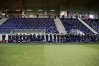 WIENER NEUSTADT, AUSTRIA - MARCH 25: USMNT bench during a game between Jamaica and USMNT at Stadion Wiener Neustadt on March 25, 2021 in Wiener Neustadt, Austria.