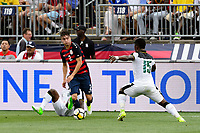 East Hartford, CT - Saturday July 01, 2017: Jorge Villafaña during an international friendly match between the men's national teams of the United States (USA) and Ghana (GHA) at Pratt & Whitney Stadium at Rentschler Field.
