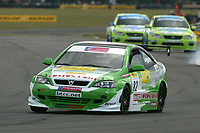 Round 7 of the 2005 British Touring Car Championship. #82. Fiona Leggate (GBR). Tech-Speed Motorsport. Vauxhall Astra Coupé.