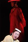 MADAME ONGDiirection artistique de la compagnie : Kim Sung-nyoScénario & mise en scéne : Koh Sun-woongComposition musicale :Han Seung-seokCostumes : Lee Seung-mooScénographie : Kim Choong-shin Chorégraphie : Park Ho-binVidéo : Lee Won-hoLumières : Ryu Baek-heeMaquillage : Kim Jong-hanavec : Kim Ji-sook, Lee So-yeon, Kim Hak-yong, Choi Ho-sung, Kim Cha-kyong, Heo Jong-youl, Woo Ji-yong, Lee Young-tae, Na Yoon-young & la National Changgeuk Company de CoréeSaxophone, danse et interprétation : Kévin ThéagèneCadre : Année France-Corée 2015-2016Date : 14/04/2016Lieu : Théâtre de la VilleVille : Paris© Laurent Paillier / photosdedanse.com