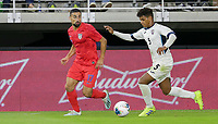 WASHINGTON, D.C. - OCTOBER 11: Sebastian Lletget #17 of the United States looks for an open man during their Nations League game versus Cuba at Audi Field, on October 11, 2019 in Washington D.C.