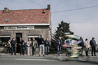 Checking the race from the roadside (and next to the café)<br /> <br /> 81st Gent-Wevelgem in Flanders Fields (1.UWT)<br /> Deinze > Wevelgem (251km)
