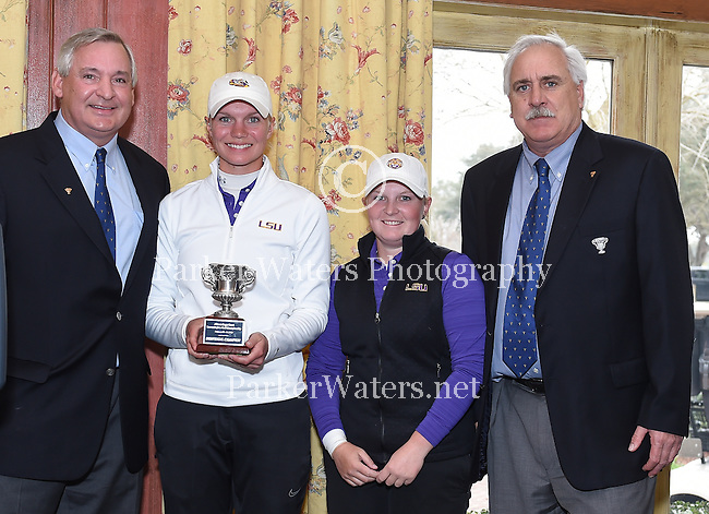 Images from Rounds 2 and 3 of the Allstate Sugar Bowl Golf Tournament played at English Turn. LSU brought home first place honors while UCLA and Florida tied for second and Tulane and Arizona tied for fourth.