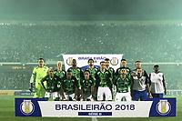 CAMPINAS, 05.05.2018-GUARANI X PONTE PRETA-Partida entre Guarani e Ponte Preta pelo campeonato Brasileiro no estádio Brinco de Ouro em Campinas (SP), interior de São Paulo, nesta sabado (05). (Foto: Denny Cesare/Codigo19)