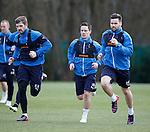 Kyle Hutton, Ian Black and Darren McGregor