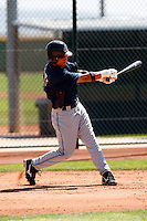 Kevin Fontanez  -  Cleveland Indians - 2009 spring training.Photo by:  Bill Mitchell/Four Seam Images