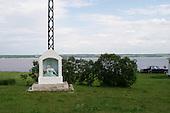 June 21, 2004<br /> Canada<br /> <br /> River shrine near Ste Anne de la Pérade