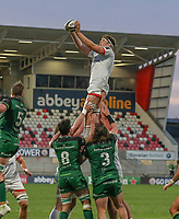 Friday 23rd April 2021; Matty Rea during the first round of the Guinness PRO14 Rainbow Cup between Ulster Rugby and Connacht Rugby at Kingspan Stadium, Ravenhill Park, Belfast, Northern Ireland. Photo by John Dickson/Dicksondigital