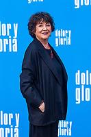 The actress Julieta Serrano attends the photocall of the movie 'Dolor y gloria' in Villa Magna Hotel, Madrid 12th March 2019. (ALTERPHOTOS/Alconada) /NortePhoto.con NORTEPHOTOMEXICO