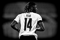Moise Kean of Italy in action during the friendly football match between Italy and Moldova at Artemio Franchi Stadium in Firenze (Italy), October, 7th 2020. Photo Andrea Staccioli/ Insidefoto