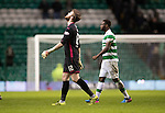 Celtic v St Johnstone…25.01.17     SPFL    Celtic Park<br />Zander Clark looks to the skies as he walks off at full time<br />Picture by Graeme Hart.<br />Copyright Perthshire Picture Agency<br />Tel: 01738 623350  Mobile: 07990 594431